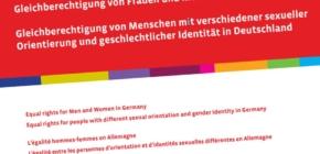 """Neue Orientierungshilfe in 10 Sprachen zur """"Gleichberechtigung von Frauen und Männern in Deutschland"""""""