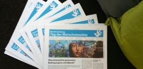 """Die """"Bündniszeitung – Tag der Menschenrechte 2017"""" ist da!"""