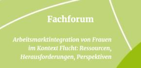 Fachforum Arbeitsmarktintegration