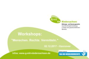 G mit Workshops