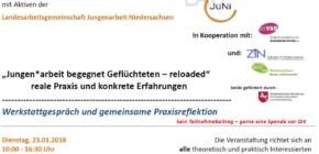 """Werkstattgespräch """"Jungen*arbeit begegnet Geflüchteten – reloaded – Reale Praxis und konkrete Erfahrungen"""""""