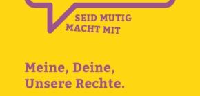 """""""Meine, Deine, Unsere Rechte."""" – Neue Handreichung für geflüchtete Frauen"""
