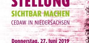 Gleichstellung sichtbar machen – CEDAW in Niedersachsen – Auftakt in Stade