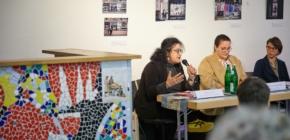 Spannender Diskussionsabend über Sprache und Sprachlosigkeit